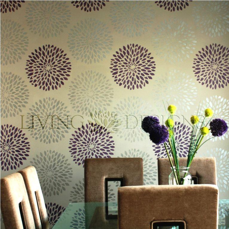 Plantilla Decorativa para pintar paredes y crear efectos como el