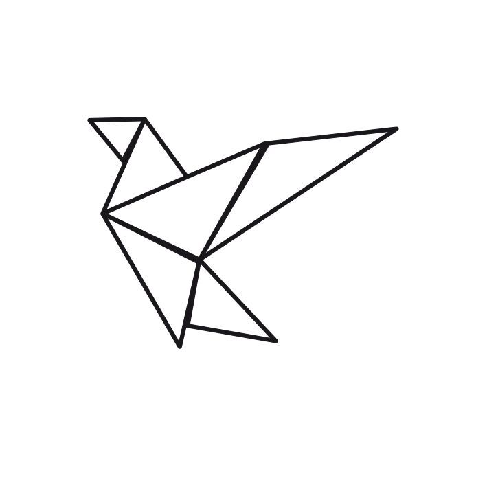 Origami geometric pinterest id e tatouage - Tatouage oiseau origami ...