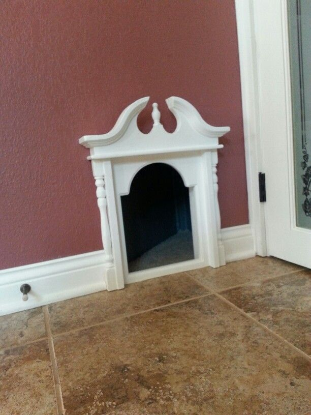 My Cat Door To Basement Litter Box.