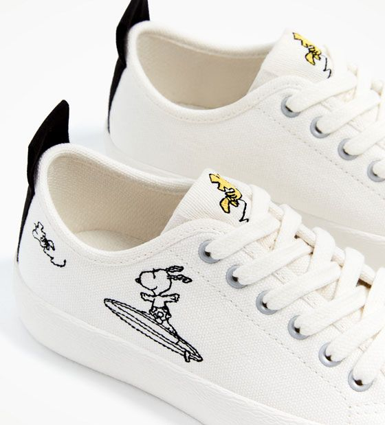 7a9c4e4d57 Image 2 of SNOOPY PLIMSOLLS from Zara