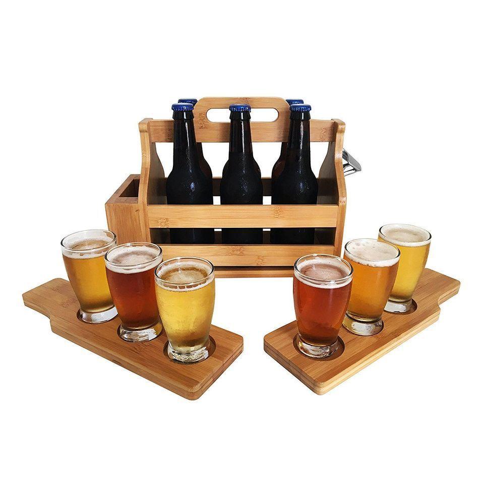 Imagem relacionada Beer carrier, Wooden beer caddy