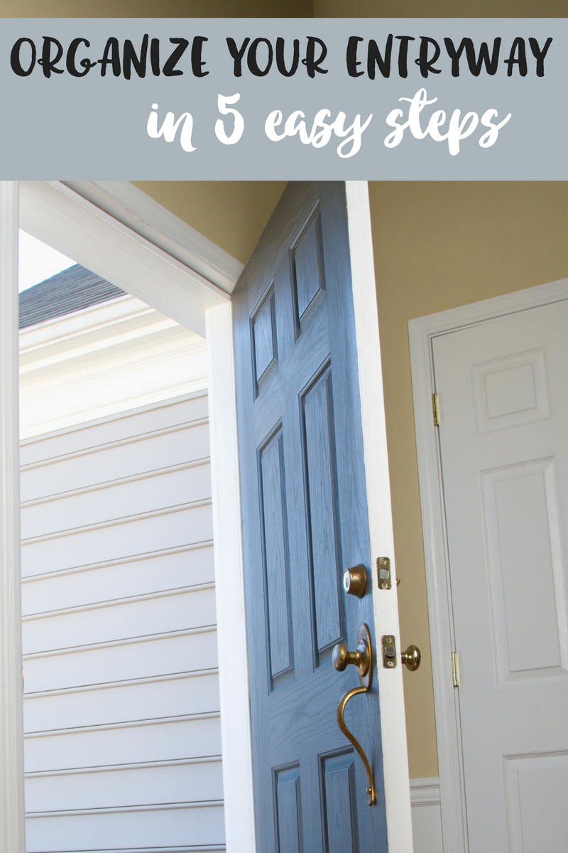 Your Entry Way Says A Lot About You But Should Also Be A Sanctuary Here S How To Organize Your Entryway In 5 Entryway Organization Home Organization Entryway