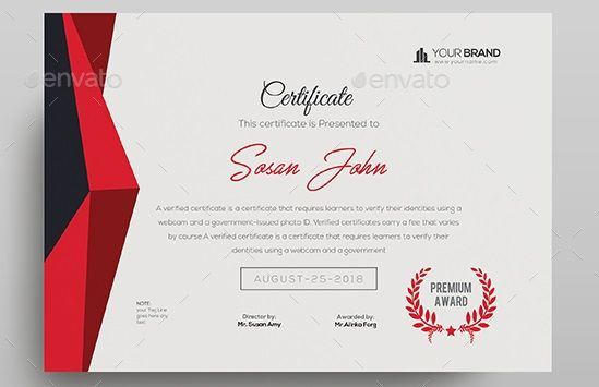 CertificateDesign Devisers Certificate Template Fully Clean - new certificate vector free