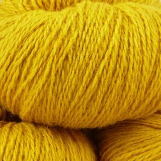 Snaeldan 2-ply yarn, color Viking Gold | The Island Wool