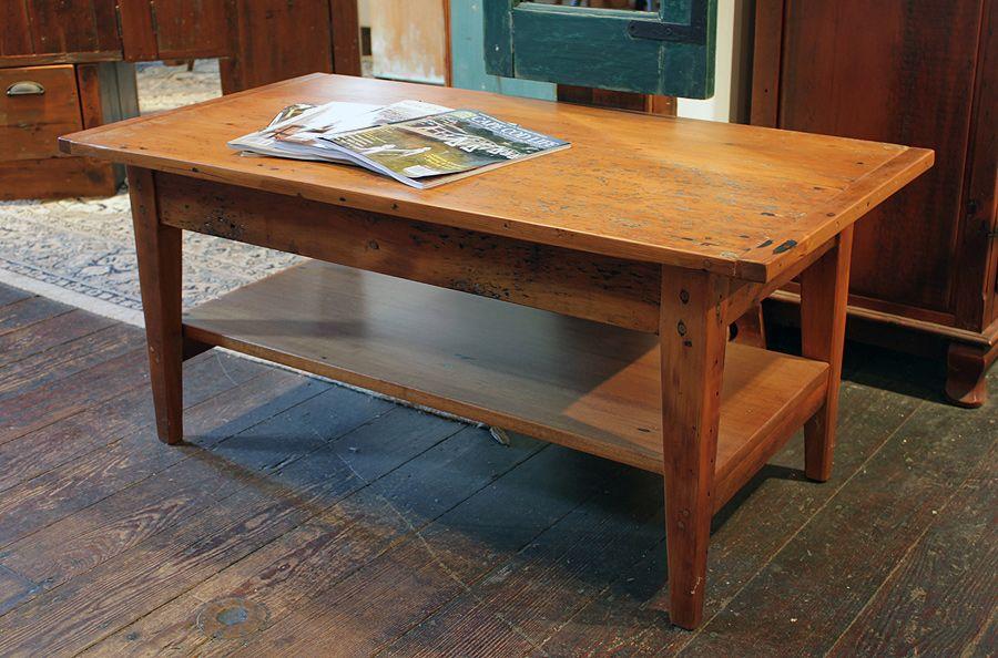 Superieur Antique Pine Coffee Table