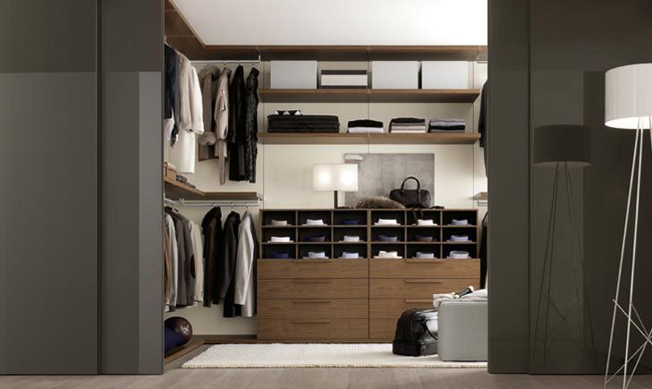 Modern Walk In Wardrobe 30 walk-in closet ideas for men who love their image - http