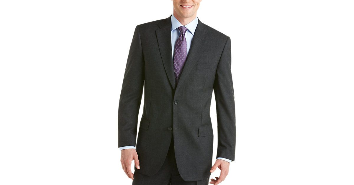 Joseph & Feiss Gold Two Pants Classic Fit Suit, Charcoal ...