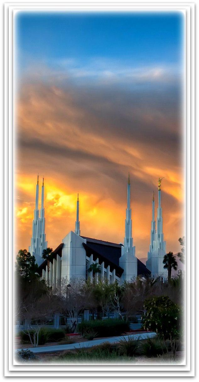 Las Vegas Nevada Temple Lds Temple Pictures Temple Pictures Lds Pictures