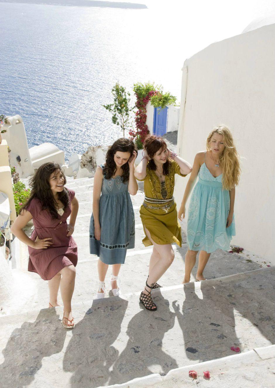 Sisterhood of the Traveling Pants- Santorini inspiration