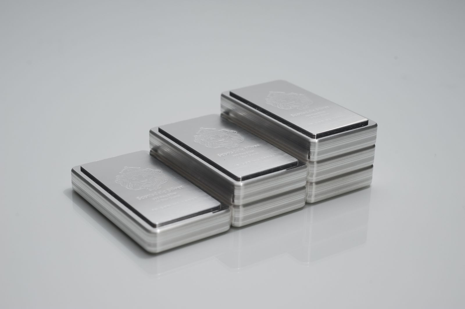 Scottsdale Mint 10oz Stacker Silver Bar Silver Bars Silver Silver Bullion