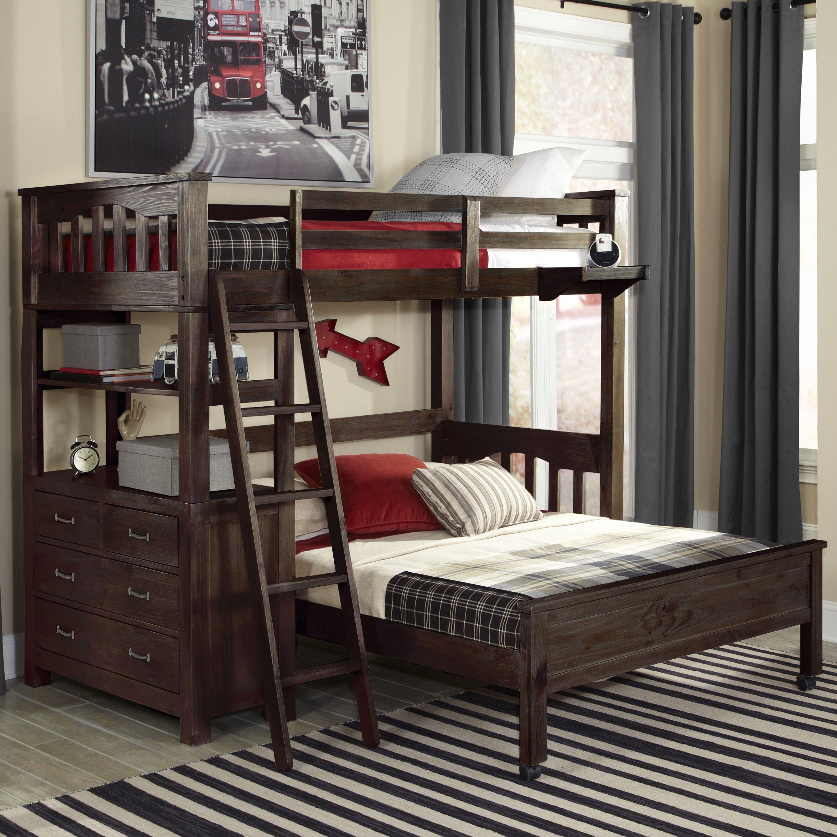Teenrooms go to bunk bed, interiors, espresso, kids rooms, teen rooms