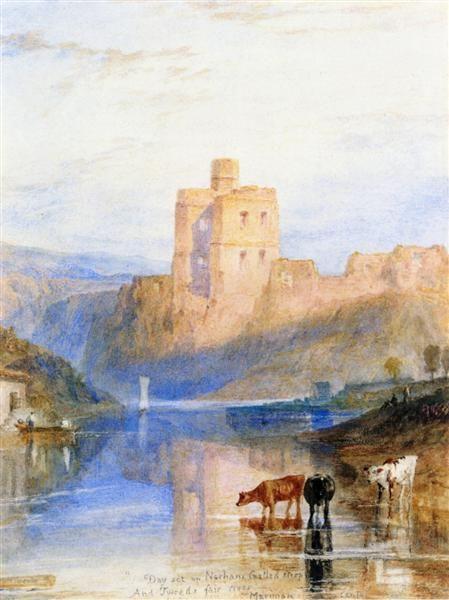 Turner Watercolor Paintings : turner, watercolor, paintings, Norham, Castle, Tweed, Turner, William, Painting,, Turner,, Landscape, Paintings