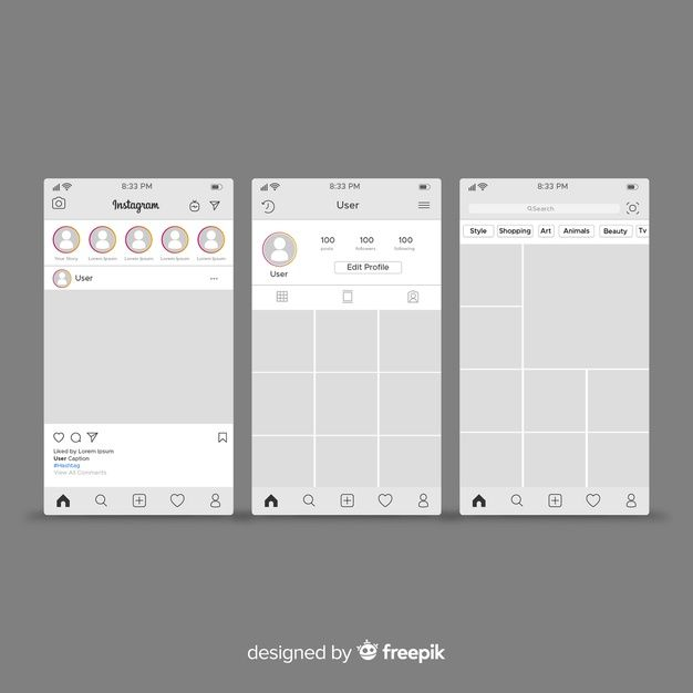 Download Instagram Post And Profile Template For Free In