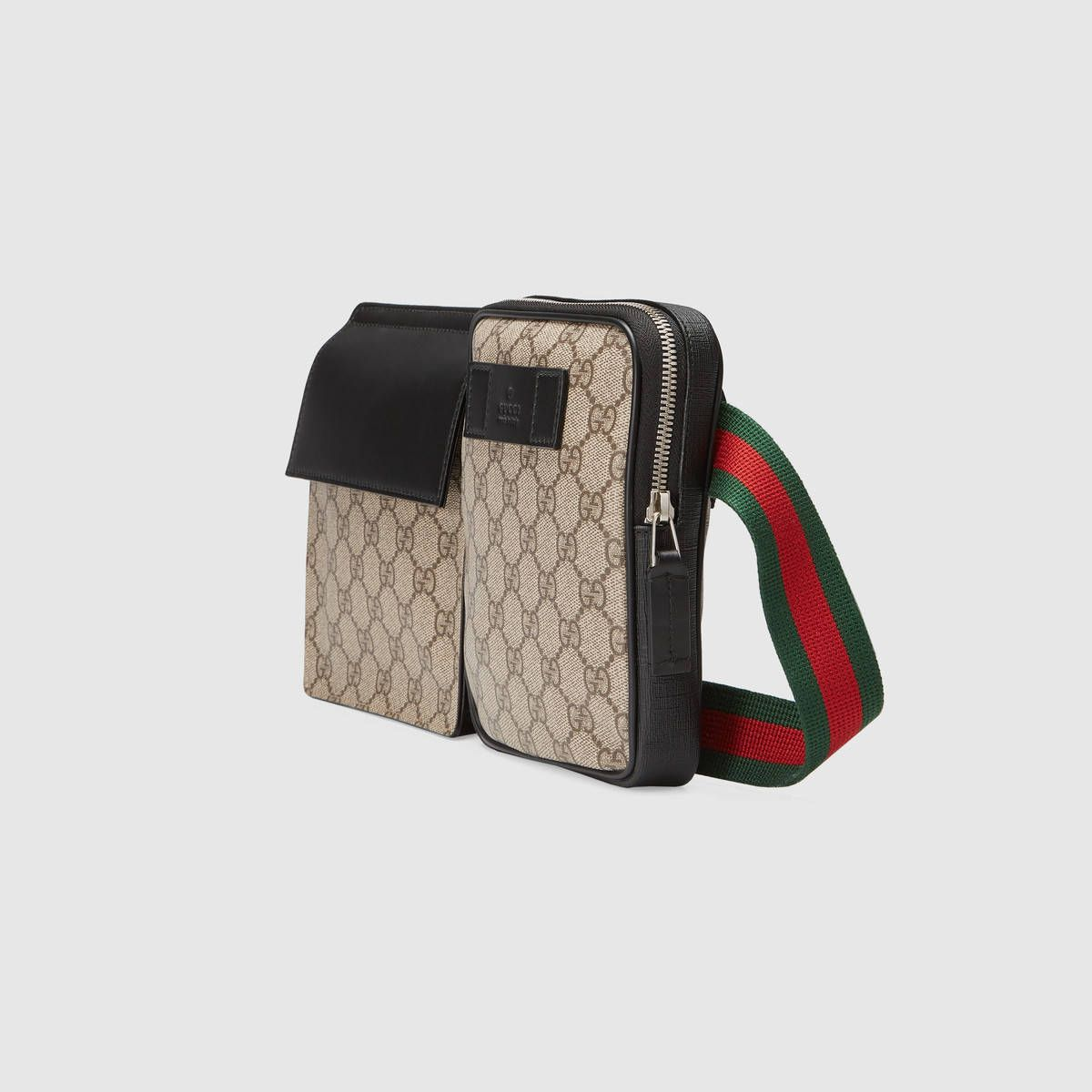 df5893e3fcbb GG Supreme belt bag | Style... ish | Bags, Wide leather belt, Gucci ...