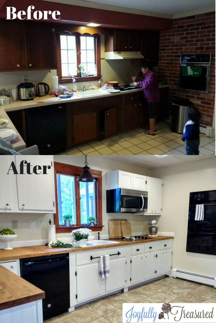 Our Diy Kitchen Remodel Before And After Tackling A Farmhouse