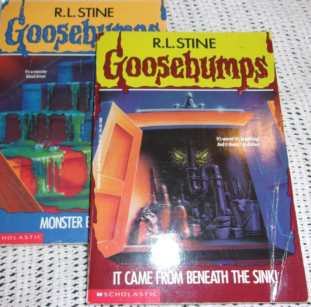 2 Goosebumps Books R L Stine Monster Blood 3 It Came From