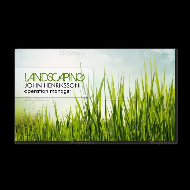 Landscaping lawn care gardener business card branding pinterest landscaping lawn care gardener business card colourmoves