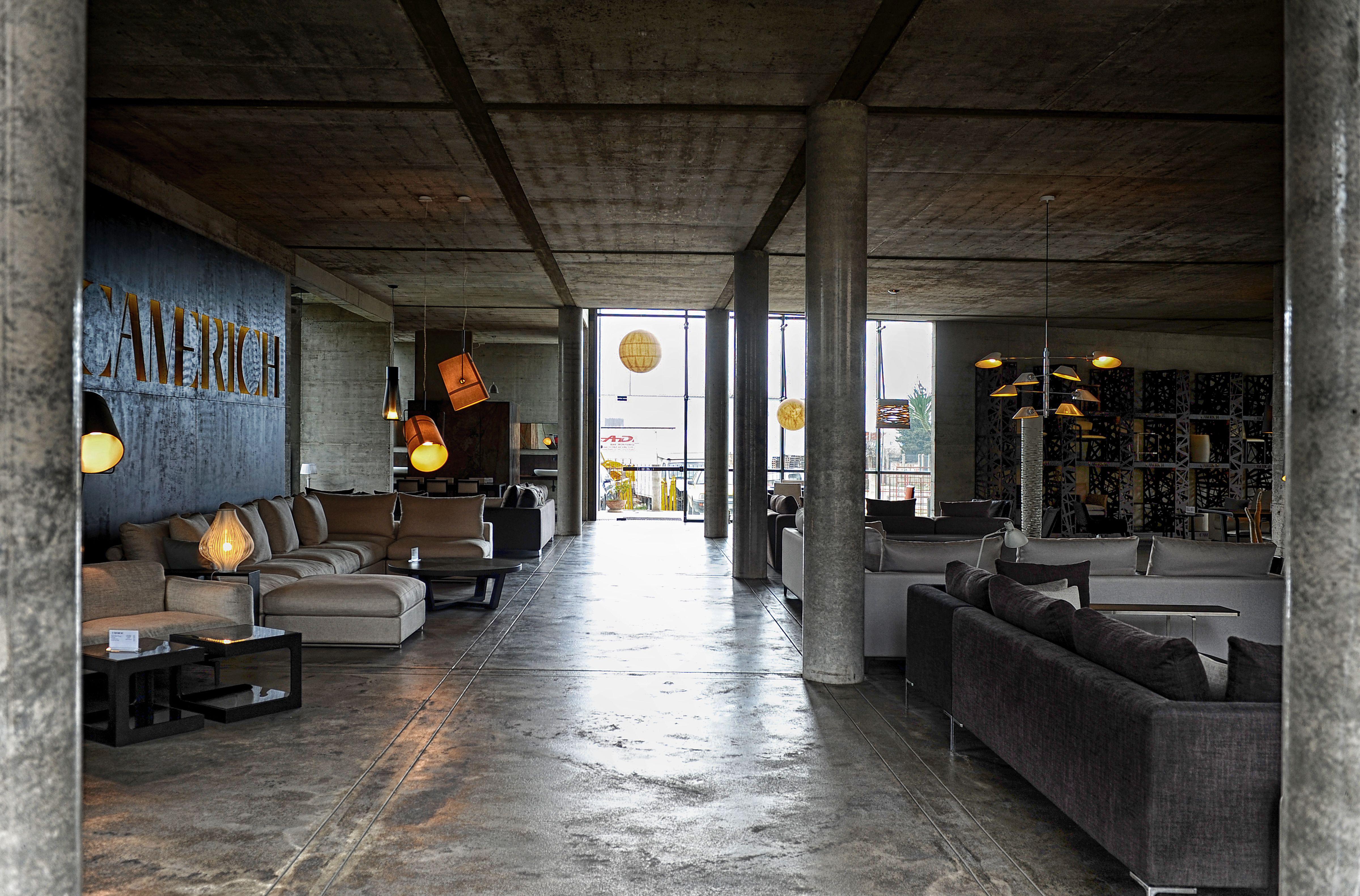 Camerich Furniture Showroom Bar Montenegro Design