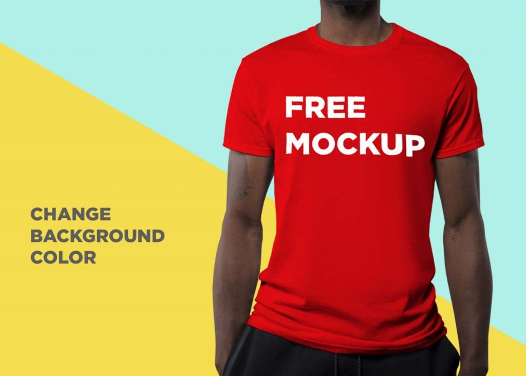 4263+ T Shirt Mockup Free Download Easy to Edit