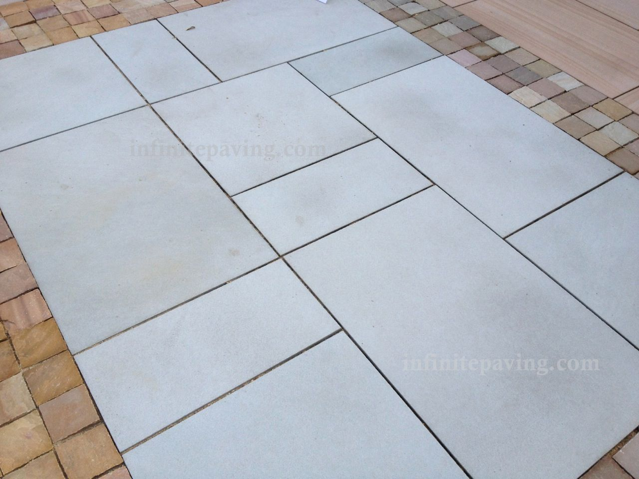 Infinitepaving high quality natural stone paving indian sandstone indian sandstone paving free uk delivery dailygadgetfo Image collections