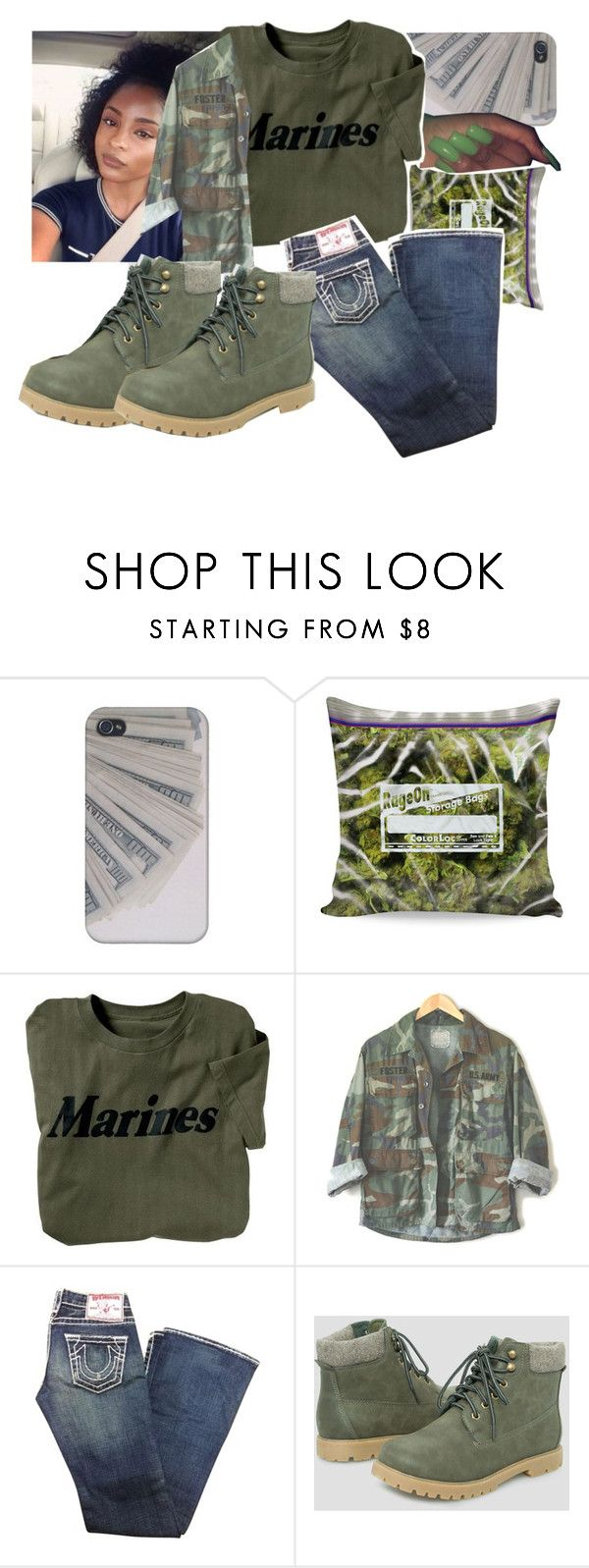 """""""Untitled #137"""" by kaykay027 on Polyvore featuring True Religion and Ashley Stewart"""