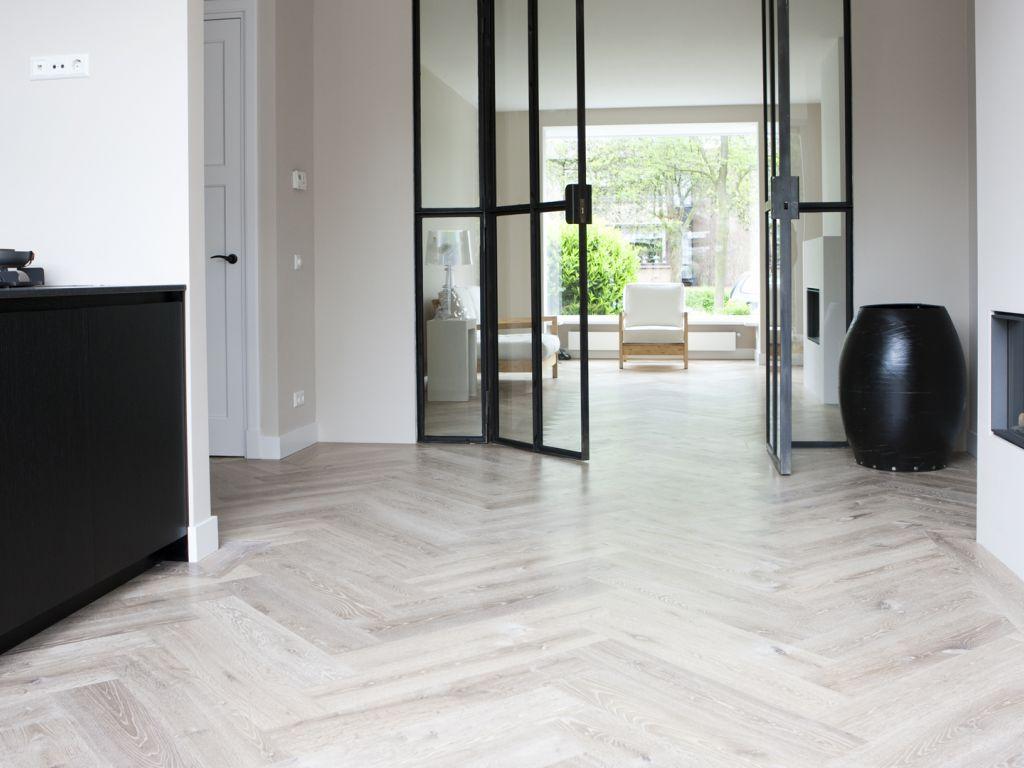 uipkesvloeren huis vloeren pinterest visgraat vloeren