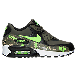 Boys' Grade School Nike Air Max 90 Premium Leather Running