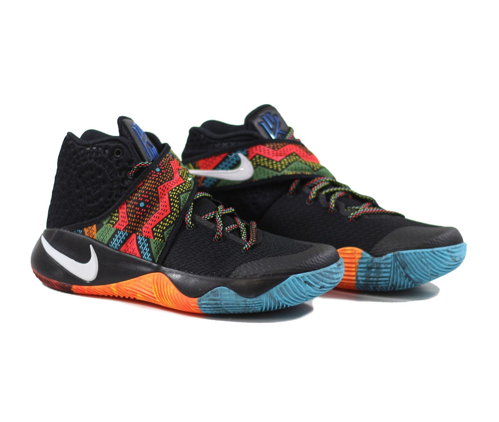size 40 b9b64 b5f3d Kyrie 2 BHM - Black/Multi-Color-Multi Color | Products ...