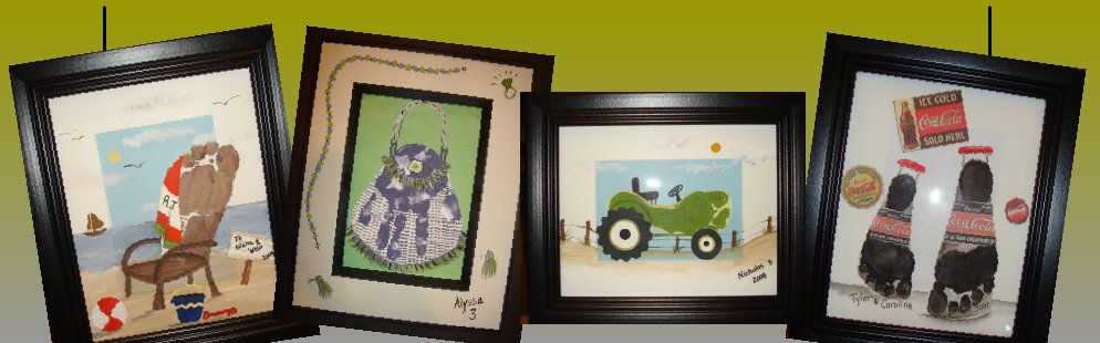 patty cake prints neat gifts with your child s hand or foot prints
