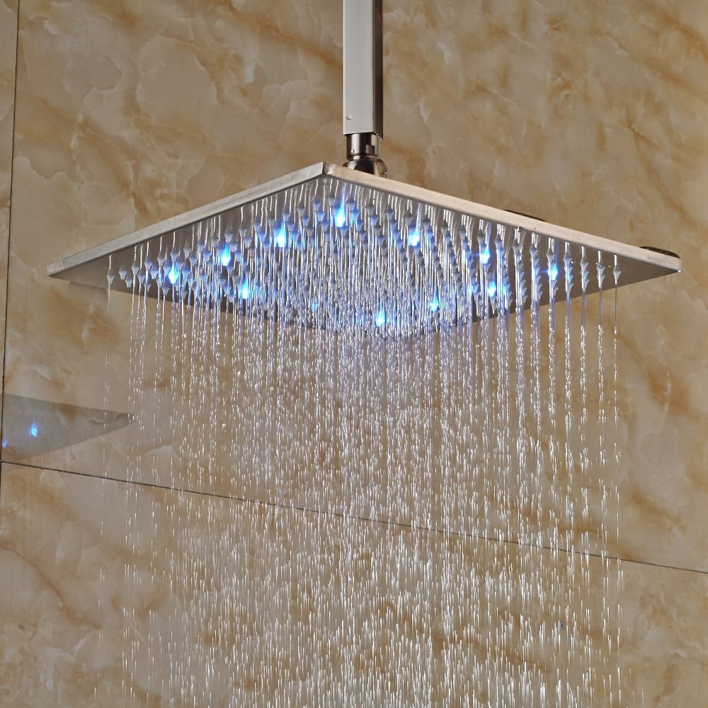 Bathroom Custom Rain Shower Head Ceiling Mount With Images Of Rain