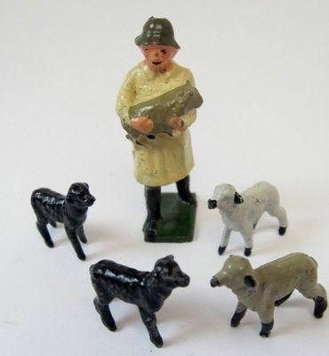 Britains Lead Farm Figures