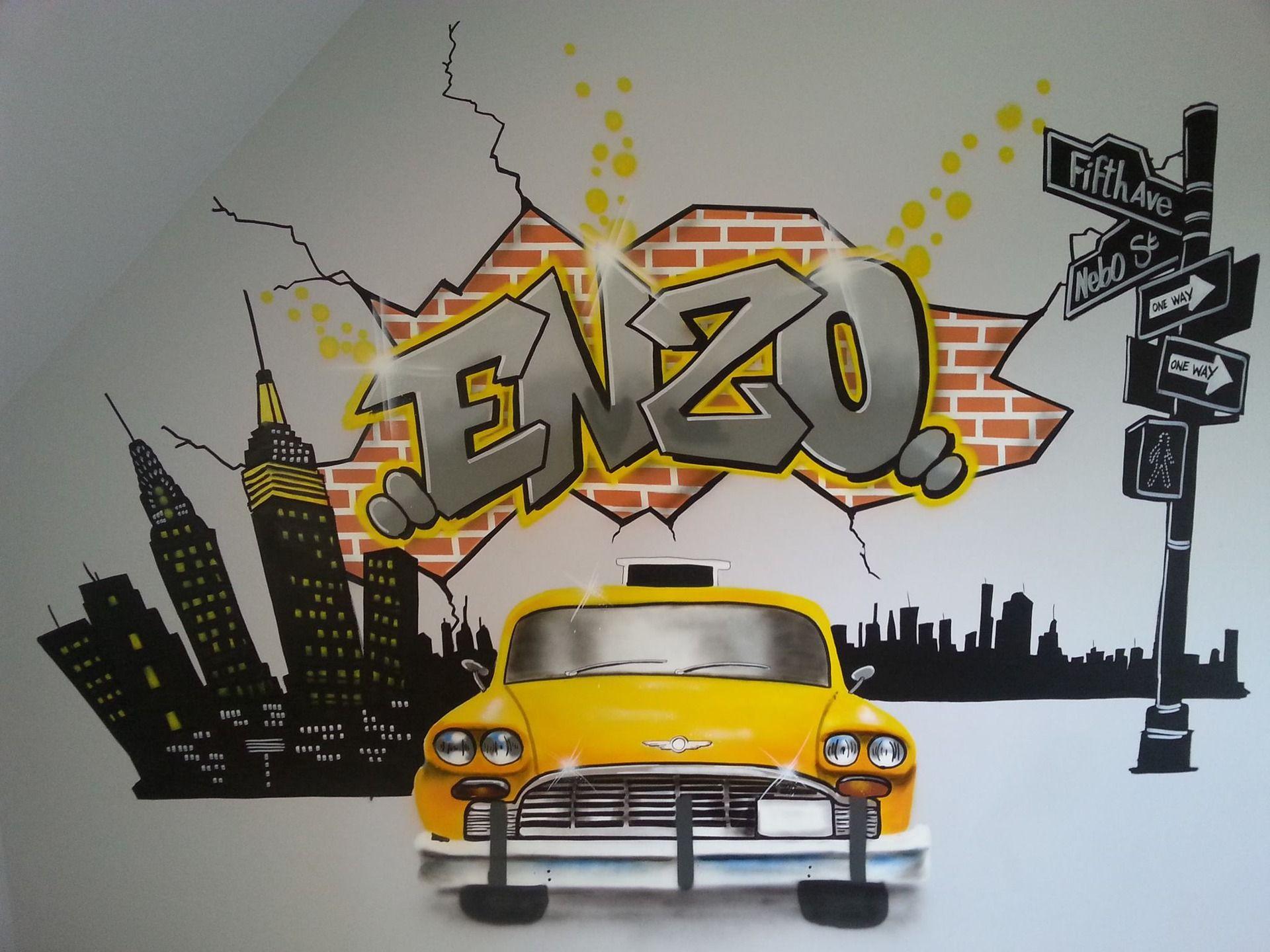 Afficher L Image D Origine Graffiti Prenom Pinterest Art Walls