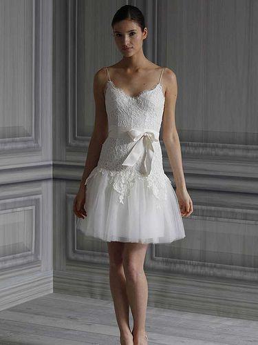 Mini White Beach Wedding Dresses