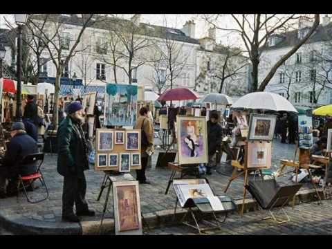 Monmatre, la boheme Chante Charles Aznavour
