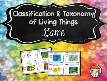 Classification & Taxonomy of Living Things Game | AZSunset