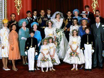 Wedding Portrait W Family Prinzessin Diana Hochzeit Royale Hochzeiten Diana