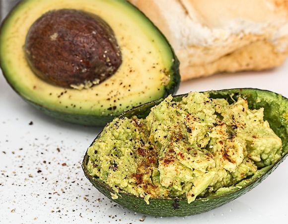 Guacamole faz parte da Zone Diet