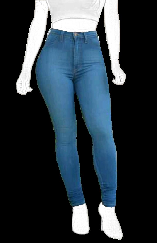 Pantalon Jeans Skinny Tiro Alto Mujer Ref 1005 Patrones Confecciones Cursos Online De Costura Jeans De Tiro Alto Pantalones Jeans Pantalon Tiro Alto