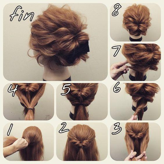 Peinados Para Ir A Una Boda Peinados Sencillos Peinados Poco Cabello Peinados Cabello Corto