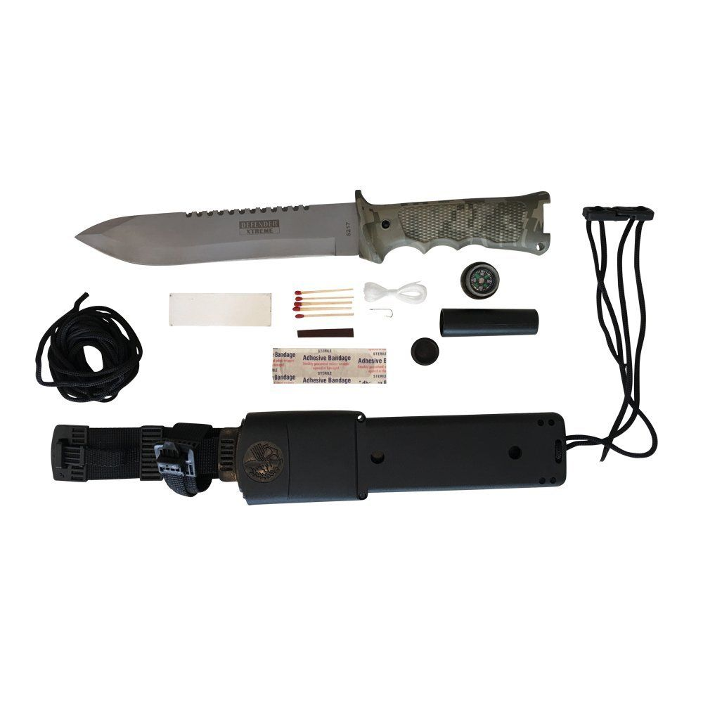 Top Quality Survival Knife with Sheath - Amazon Jungle Survival