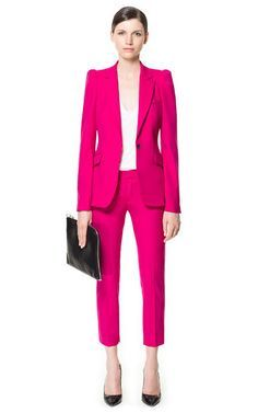 pink suit womens - Google Search | ✿ Smart ✿ | Pinterest | Pink ...