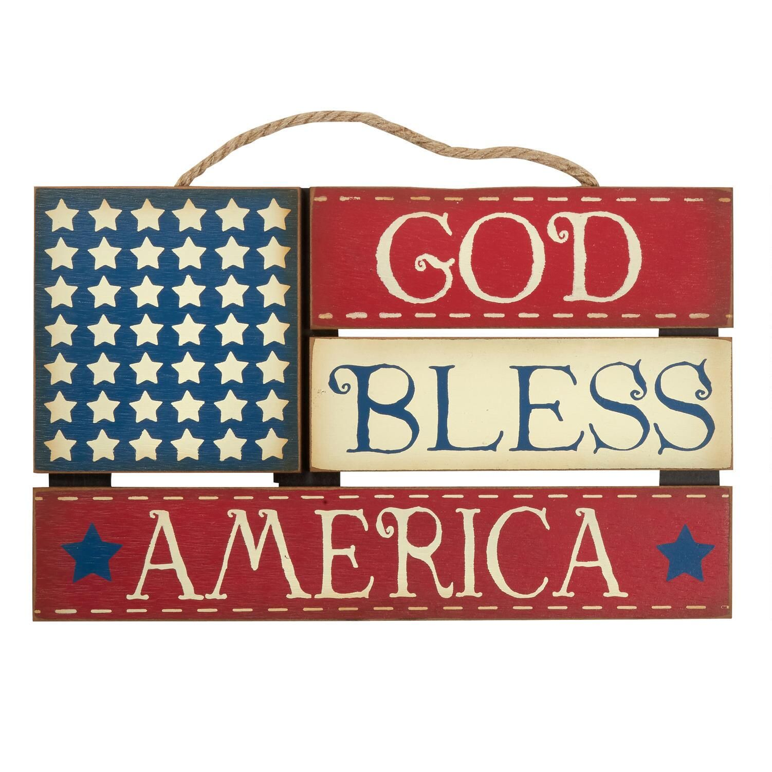 15 5 God Bless American Flag Wood Wall Hanger God Bless Wall American Flag Wood Christmas Tree Shop Fourth Of July Decor