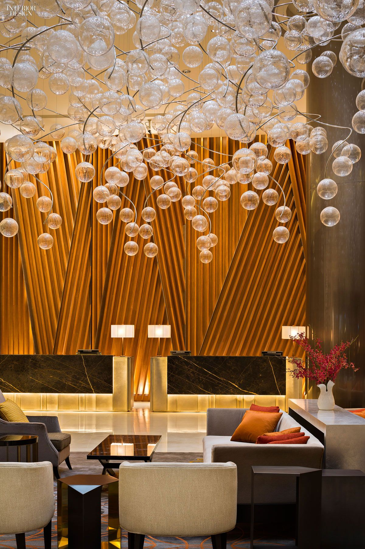 2015 Rising Giants Top 25 Firms Hotel Lobby design