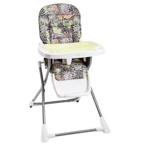 Compact Fold High Chair Zoo Friends 49 Pamela Newberry