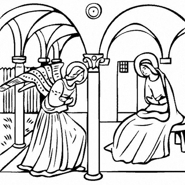 Fra Angelico L Annonciation Vers 1430 Arte Religiosa