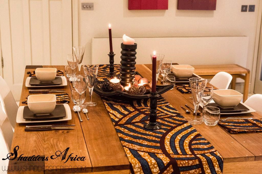 Interior Inspired By Africa And Designed For Contemporary