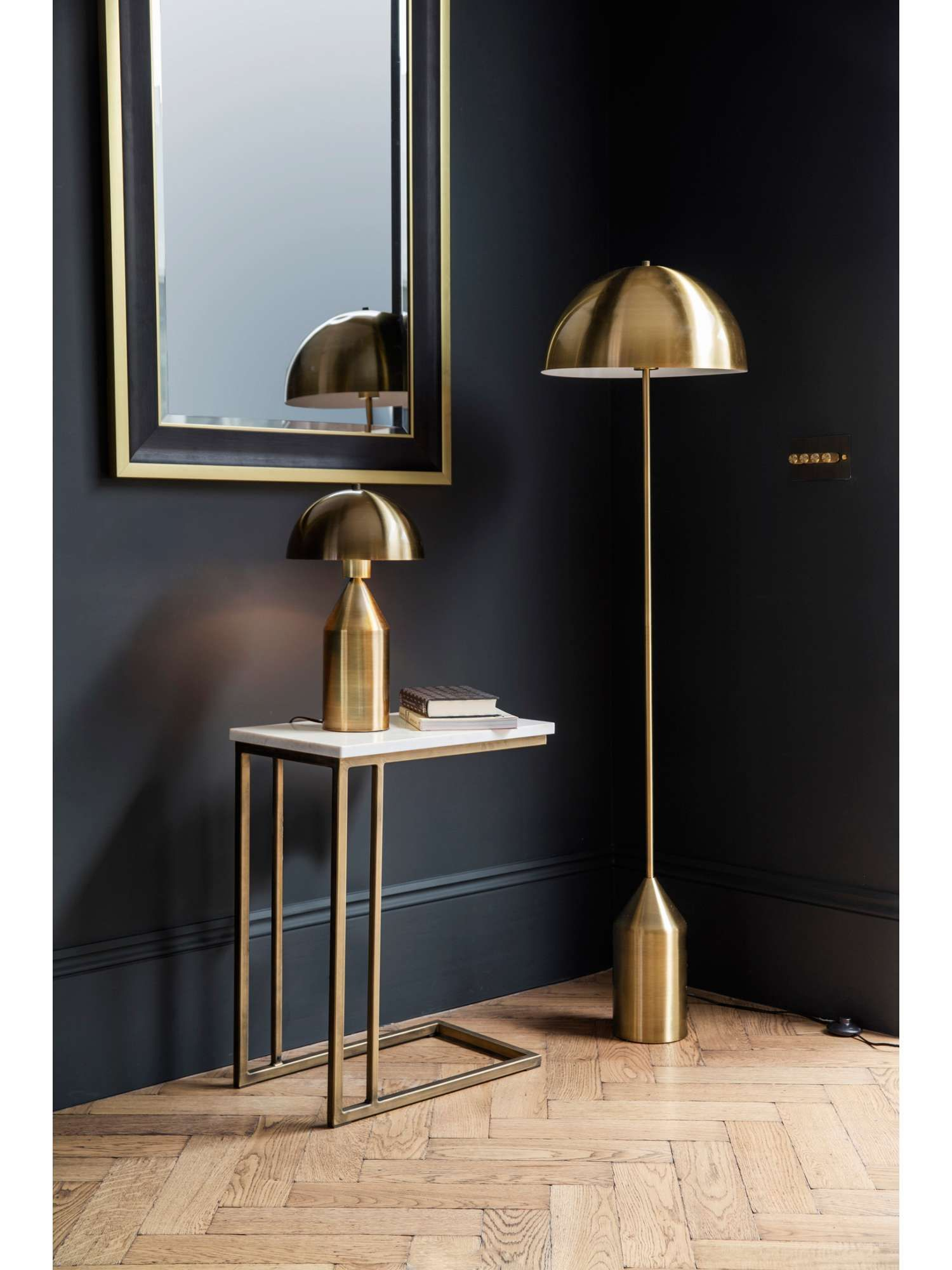 Buy your Biba Albany Gold Floor Lamp online now at House of