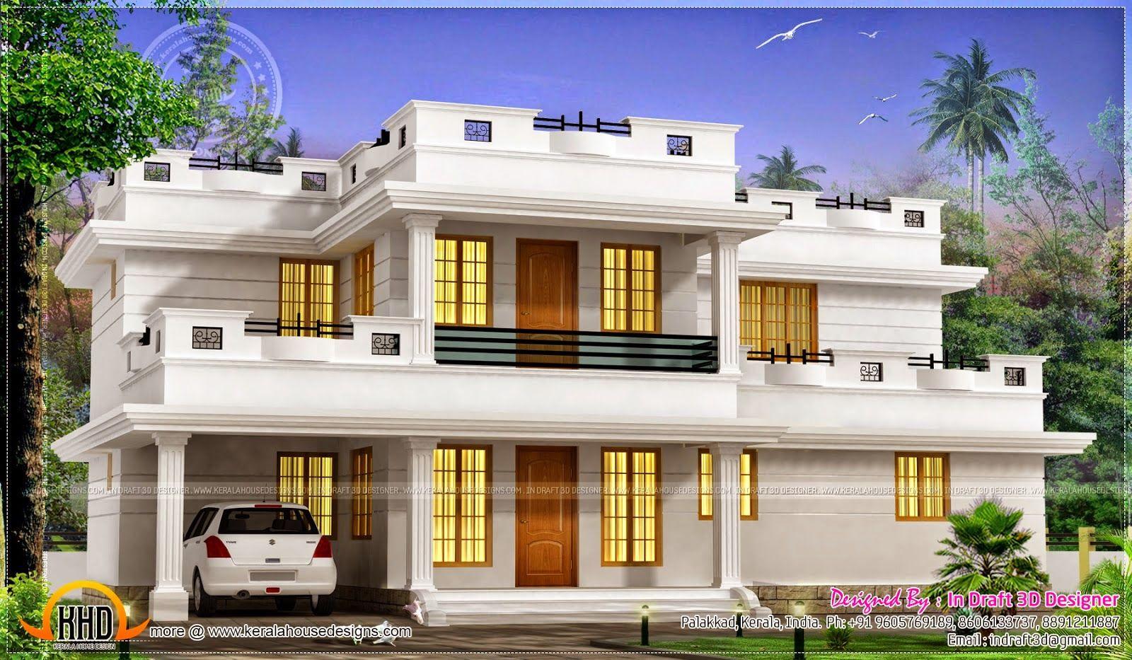 Rumah Minimalis 2 Lantai Atap Datar Desain Rumah Minimalis