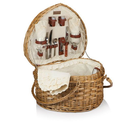 Shop now for Picnic Time Heart Picnic Basket. Create a romantic picnic for two. #heartpicnicbasket #apollotoysandgifts (scheduled via http://www.tailwindapp.com?utm_source=pinterest&utm_medium=twpin&utm_content=post183294955&utm_campaign=scheduler_attribution)