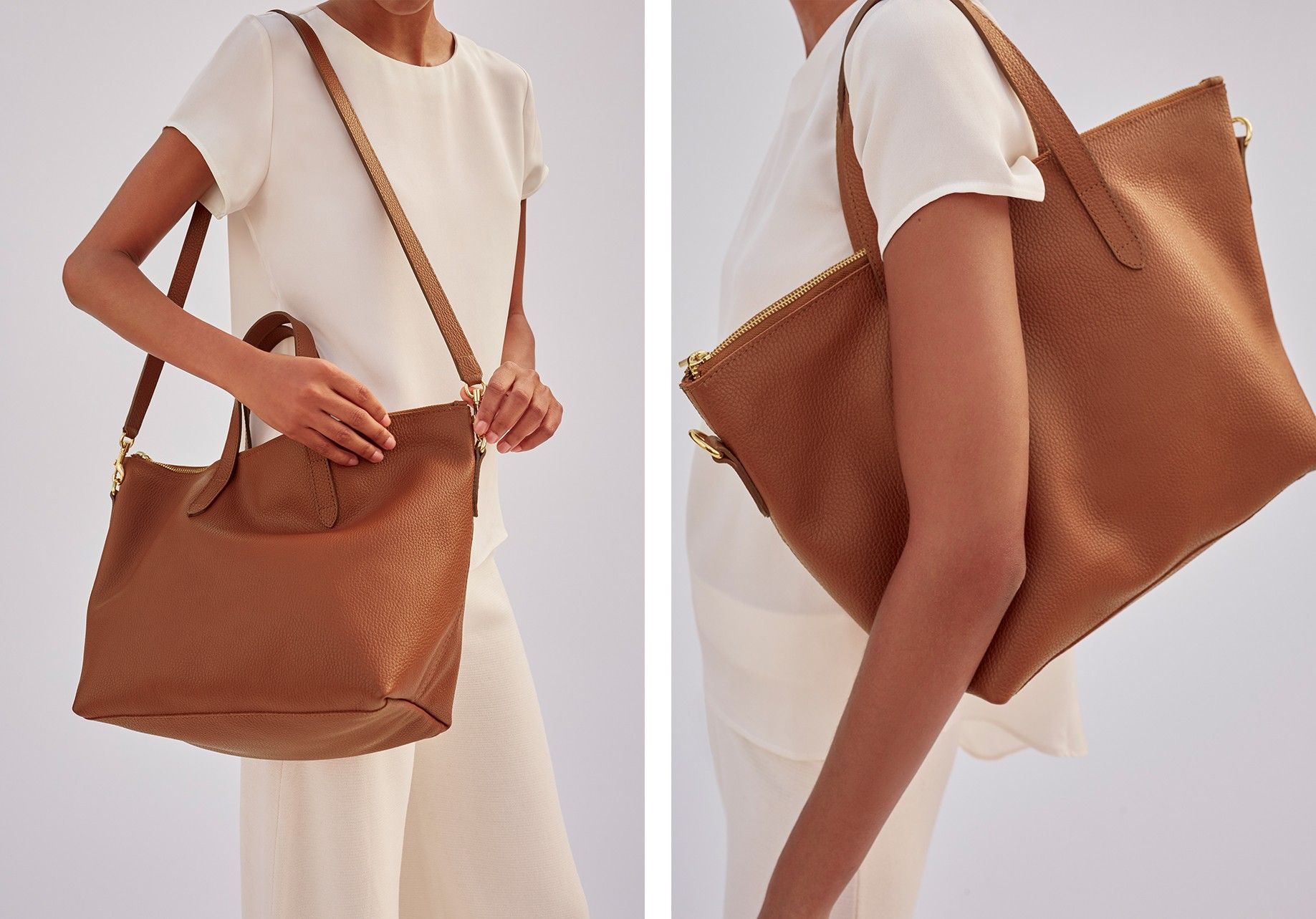 f55fdafba The Medium Carryall Tote   Cuyana Leather Cleaning, Medium Tote, Shopping  Totes, Pebbled